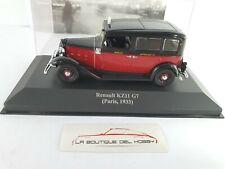 RENAULT KZ11 G7 TAXI PARIS 1933 ALTAYA ESCALA 1:43