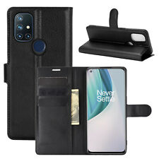 Classic Magnetic Leather slot wallet flip Cover Case For OnePlus Nord N10 5G