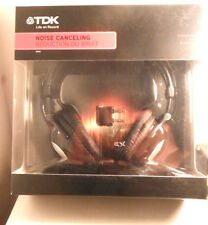 TDK NC-150 Headband Headphones - Black/White