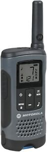 Motorola Talkabout T200 T200TP Gray Rechargeable 2-way Radios Walkie Talkies