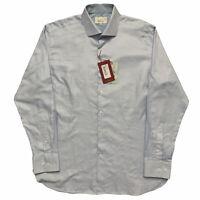 Ted Baker London Endurance Long Sleeve Oxford Dress Shirt Blue Size 16.5-34/35