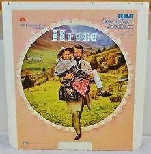 RCA VideoDisc CED - Heidi - c.1968