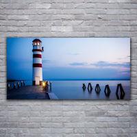Artland Poster Strand Andrea Dölling Düne Bild Leuchtturm Spruch Meer
