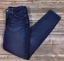 NYDJ Womens Ami Super Skinny Denim Jeans 2 Petites Bedford Medium Wash EUC N6