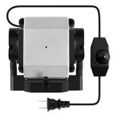 VIVOSUN 332 GPH 14W Adjustable Air Pump for 120V Fish Aquariums