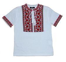 Ukrainian Boys Embroidery T-shirt Vyshyvanka Ukraine Textile