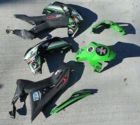 17-20 Kawasaki Ninja Z125 Z 125 BR125 pro Right Left side plastic Fairing DAMAGE