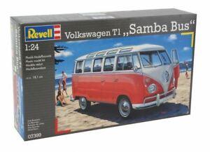 Revell - VW T1 Samba Bus 1:24 - Model Kit - 07399
