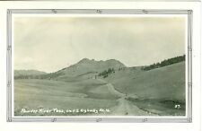 Powder River Pass WY Powder River Pass on U.S. Hyw 16 RPPC 37