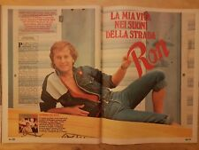 RITAGLIO CLIPPING 1982 RON ROSALINO CELLAMARE (SC24)