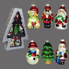 Weihnachtsmann Christbaumschmuck Aus Glas Gunstig Kaufen Ebay