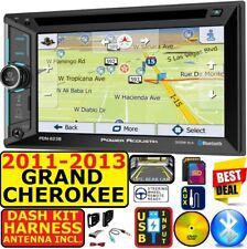 2011-2013 Grand Cherokee & Durango Navigation Bluetooth Usb Aux Sd Car Radio Pkg