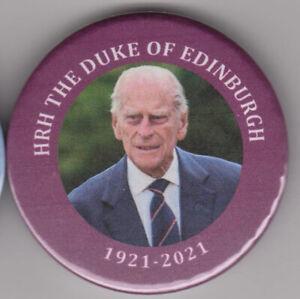 Prince Philip badge - memorial pin - 30% TO DUKE OF EDINBURGH'S AWARD CHARITY