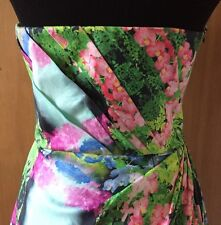 Zara Floral Strapless Tulip Corset Cocktail Dress NWT Size Medium-SOLD OUT!
