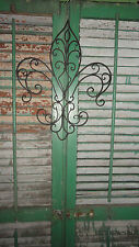 Fleur de Lis decorative iron work Flair of New Orleans wall decor Shabby Chic