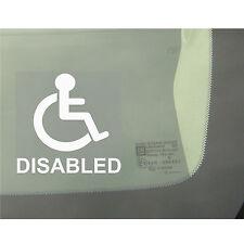 LOGO disabili AUTO, FURGONE, CAMION, AUTOBUS Window sticker-disability segno, AUSILI DISABILI
