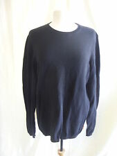 """Mens Jumper - SoulCal, size L, chest 40"""", black, cotton, knitted, used - 7772"""