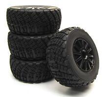 Fiesta ST Rally WHEELS & tires, set 4 (7473t 12mm Brian Deegan Traxxas 74054-6