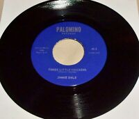 """Three Little Chickens by Jimmie Dale (Vinyl 7"""") NM Country Bopper Rockabilly"""