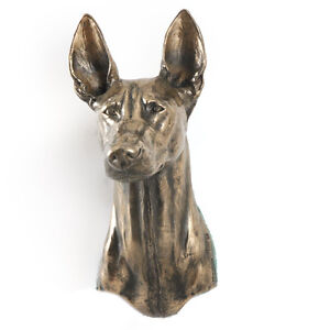 Pharaoh Hound, dog statuette to hang on the wall, UK