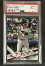 2017 Topps Update AARON JUDGE Rookie Debut RC #US99 PSA 10 YANKEES