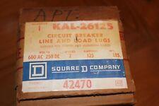 New ! Kal 26-125 Square D Type Kal Circuit Breaker 2 Pole 125 Amp 600V