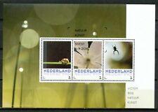 Nederland NVPH 3012 Vel Victor Bos Natuurkunst 3 2016 Gestempeld