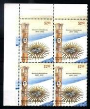 ARGENTINA 2012, NEW PRESIDENTIAL ELECTION FLAG BLOC OF 4 YV 2943 MNH