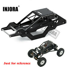 CNC Aluminum Chassis Frame Body for 1/24 RC Car Crawler Axial SCX24 Upgrade Part