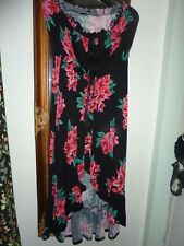Ladies High/Low full length summer dress size 16 by VERY