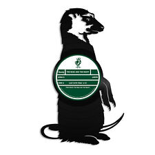 Meerkat Vinyl Wall Art Unique Gift for Animal Lovers Friends Room Decoration