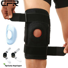 Deluxe Quality Hinged Full Knee Support Brace Protection Arthritis Injury Sports