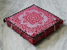 """New 18"""" Indian Mandala Square Cushion Cover Decorative Pillow Case Covers Throw"""