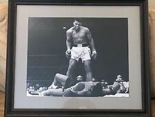 Muhammad Ali Autographed Custom Framed 16 X 20 Ali & Liston- Steiner Sports COA