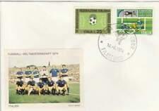 Voetbal envelop: WK Duitsland 1974 / Elftal Italië (voet047)