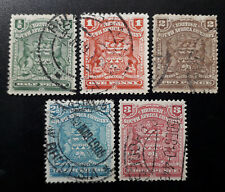 Company South Africa, 1898, lot utilisés
