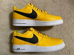 Nike Air Force 1 Low '07 LV8 Statement Game NBA Pack Shoes 823511-701 Size 13