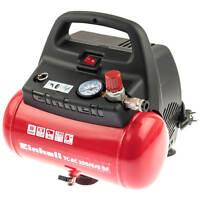 Einhell Druckluft Kompressor Mobil Ölfrei Elektrisch Kompakt Tragbar Mini Klein