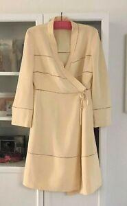 Alberta Ferretti (Italy) Designer Wrap Dress - Size 10-12