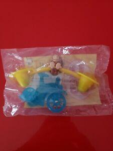 2000 Wendy's Kids Meal Curious George Balancing Trike Tricycle Toy NIB Blue
