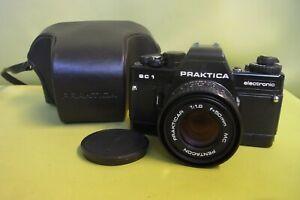 Kamera Praktica BC1 electronic Pentacon Prakticar 1:1.8/50 MC