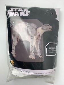 Star Wars AT_AT Imperial Walker Dog Halloween Costume Size L Greyhound Disney
