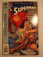 DC The Death of Superman Trade Paperback Second Printing 1993