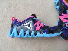 Reebok AR1773 Zig Big N Fast Fire GR K Track Sneaker Gr. 34 UK 2.5 Neu
