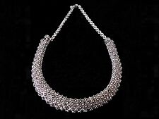 Ballerina's Antique Oxidized Silver Plated Tribal Necklace Earring Set (N001)