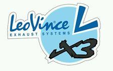 Pegatina Adhesivo Sticker LEOVINCE 14 CMS Aufkleber Autocollant