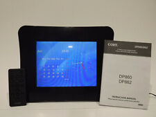 """Coby 8"""" Digital Picture Frame DP860 Media Playback Remote With Fast Shipping!"""
