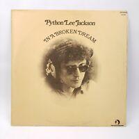 Python Lee Jackson In A Broken Dream LP 1972 Crescendo Vinyl Record NM
