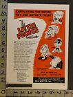 1953 TOY AD LITTLE PEOPLE WALT SCOTT DOLL PUPPET JINK NEA SERVICE CLEVELAND TI52