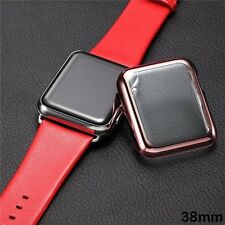For Apple Watch Series 3 38mm/42mm Snap On Full Body Cover Case+Screen Protector